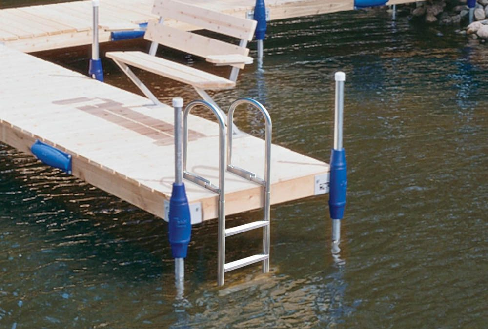 "It's Dock Season in the ""Land of 10,000 Lakes"" and Badger Country."